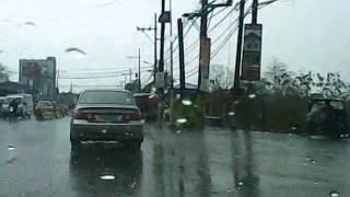 honda civic road trip under rainy weather @ daang hari road bacoor,cavite