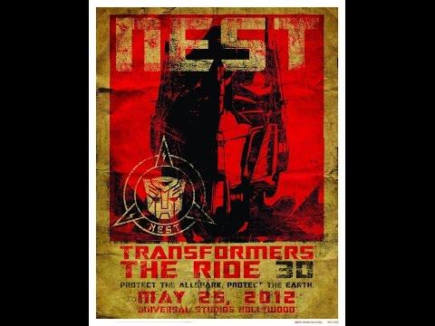 Transformers - Universal Studios 2014