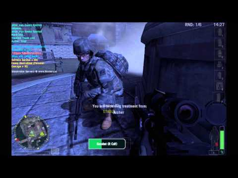 [HD] AA3 - America's Army 3 - Squad Designated Marksman - Bridge AI