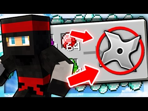 HOW TO BE A NINJA! | Minecraft 1.9 Money Wars
