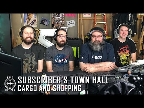 Star Citizen: Subscriber's Town Hall - Cargo & Shopping