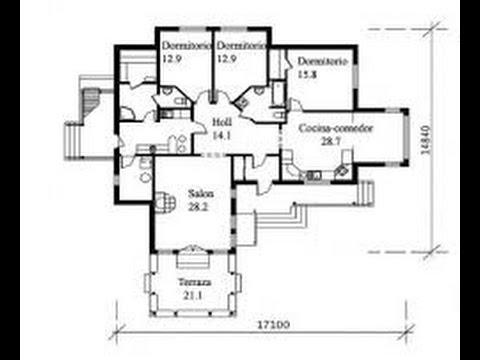 planos de casas bien distribuidas