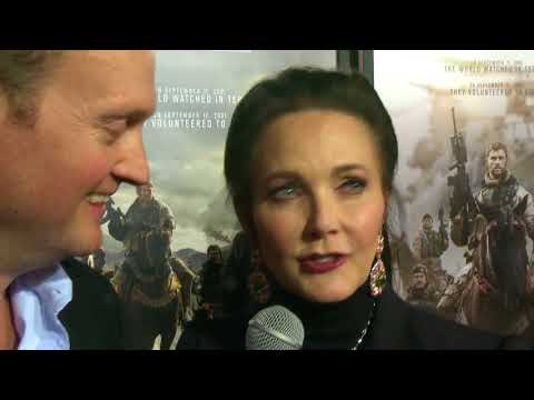 Wonder Woman Lynda Carter tells Brad Blanks what it's like to have men idolize her