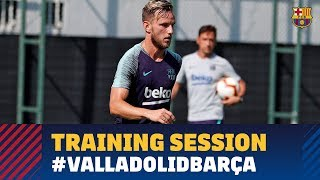 Second training session of the week