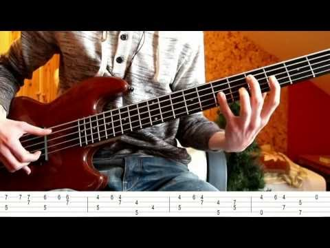 Jingle Bell Rock Bass lesson (fingerstyle) - Christmas Edition :)