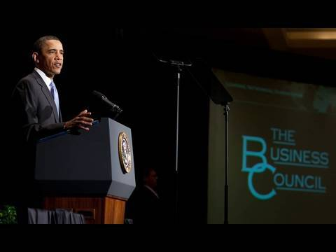President Obama on Times Square Developments and Wall Street Reform