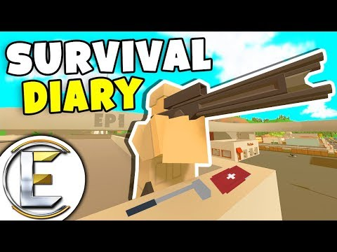 Two Guys With Shadow Stalkers - Unturned Survival Diary EP1 (Their Base Is Near Scorpion 7) thumbnail