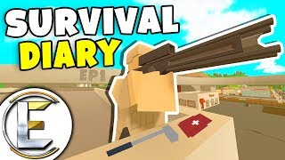 Two Guys With Shadow Stalkers - Unturned Survival Diary EP1 (They're Base Is Near Scorpion 7)