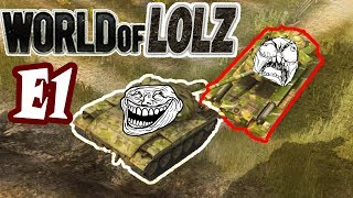 WOT Blitz │World of LOLZ ( Funny moments ) EP.1