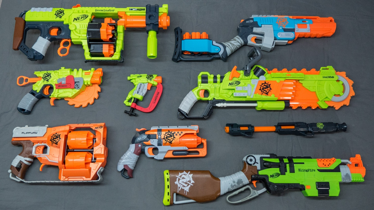 nerf zombie strike series overview top picks youtube