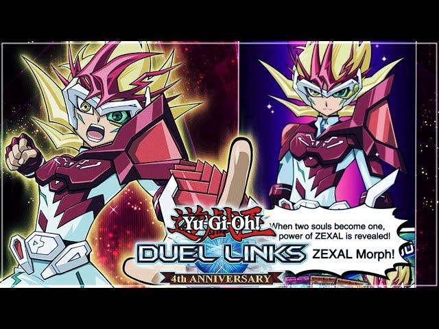 HUGE LEAKS! NEW ZEXAL CHARACTER! ZEXAL MORPH GAMEPLAY & NEW XYZ SKILLS! | Yu-Gi-Oh! Duel Links