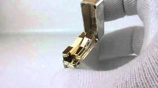 Rare 1960 S. T. Dupont Ligne 1(Line 2,8,D,57,Gatsby,Hermes) Gold lighter 60's