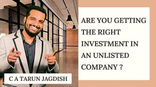 ARE U GETTING THE RIGHT DEAL FOR YOUR INVESTMENT