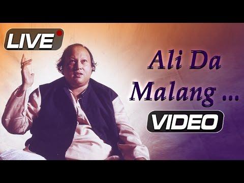 Ali Da Malang by Nusrat Fateh Ali Khan | Live Concert | Ibaadat