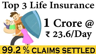 Top 3 Best Life Insurance to buy now | How to choose the Best Life Insurance Policy in India