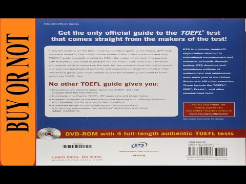 good-book?-the-official-guide-to-the-toefl-test-with-dvd-rom,-fifth-edition