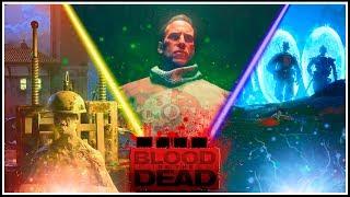 TODAS LAS CINEMÁTICAS DE BLOOD OF THE DEAD || BRUTUS, RICHTOFEN PRIMI... (Black Ops 4 Zombies)