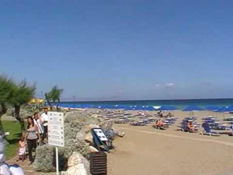 Kreta Hotel Aquila Rithymna Beach Strand Video Film Www Fella De