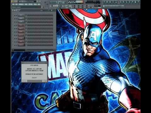 Marvel Vs. Capcom - Captain America's Theme - CPS1 Re-Arrange (FL Studio)