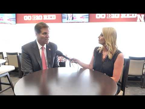 Trev Alberts, Nebraska Athletic Director   Sit-down Interview with Jessica Coody