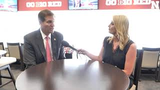 Trev Alberts, Nebraska Athletic Director | Sit-down Interview with Jessica Coody