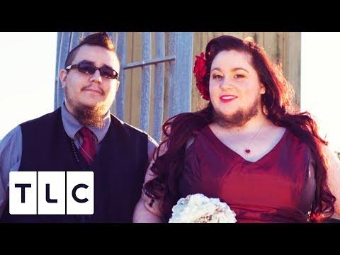 Bearded Lady Flaunts Her Beard For Her Wedding Photos | Strange Love