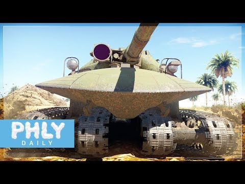 UFO ATOMIC BOMB SURVIVING TANK | Object 279 Monstrosity (War Thunder Tanks)