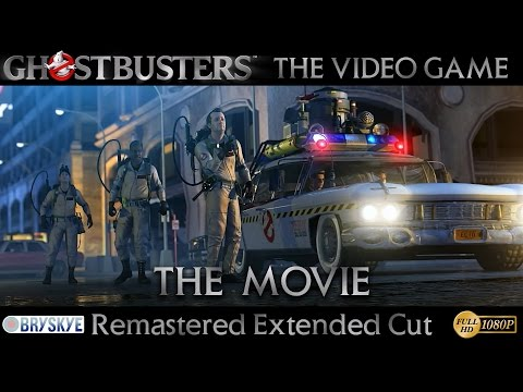 Ghostbusters The Video Game - The Movie - Remastered Extended Cut
