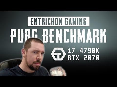 RTX 2070 + I7 4790K PUBG ALL PRESETS - YouTube