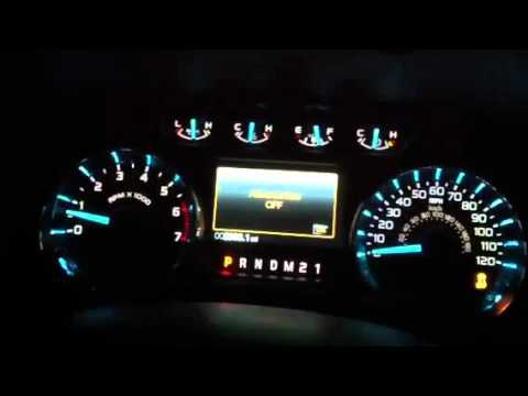 2011 Ford F150 Turning Off Advance Trac Youtube