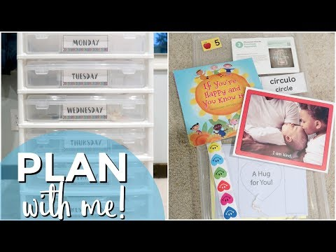 Plan With Me: Preschool Curriculum | FUNSHINE EXPRESS FOR IN-HOME DAYCARE