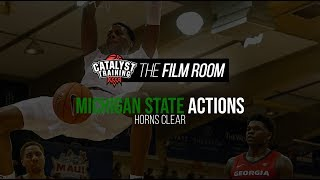 Horns Clear || Michigan State Actions