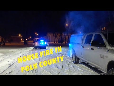 Christmas Evening House Fire In McIntosh, MN
