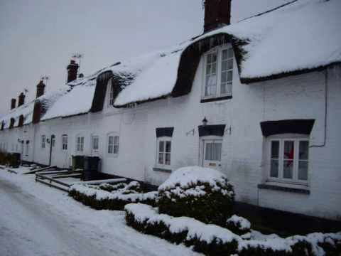 Weeting in the snow (Castle, Church and Village)