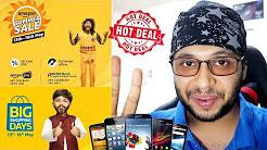 BEST MOBILE PHONE DEALS FROM THE FLIPKART & AMAZON SALES !