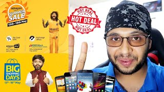 BEST MOBILE PHONE DEALS FROM THE FLIPKART & AMAZON SALES !