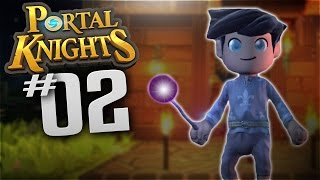 Portal Knights - Ep 2 - Dungeon - Let