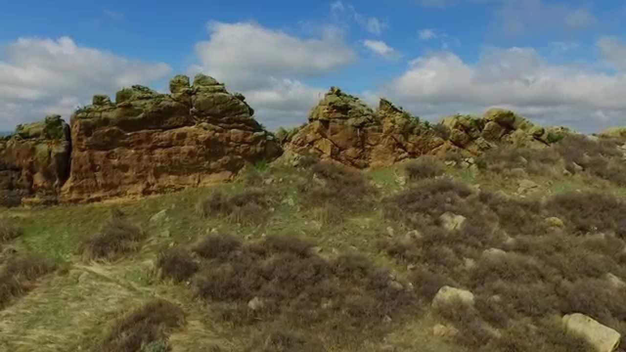 Drone View Of Devils Backbone Loveland Colorado Youtube