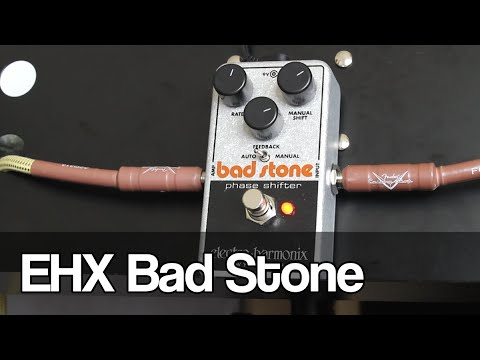 electro harmonix bad stone reissue of a classic phase shifter youtube. Black Bedroom Furniture Sets. Home Design Ideas
