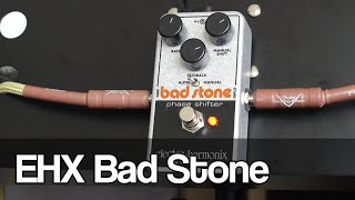 Electro-Harmonix Bad Stone | reissue of a classic phase shifter
