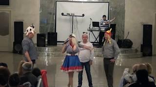 Тамада Одесса, ведущая из Одессы отжигает на юбилее.Прикол,ржач