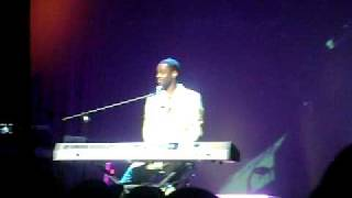 Brian McKnight concert - Easter 2009, London, England