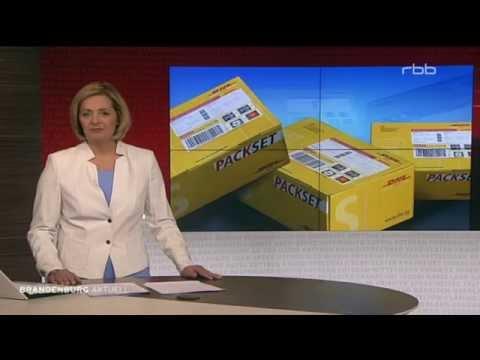 TV Doku: Deutsche Post - Probleme bei DHL in Berlin und Brandenburg rbb 20.03.2015