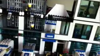 Awesome custom Lego police station