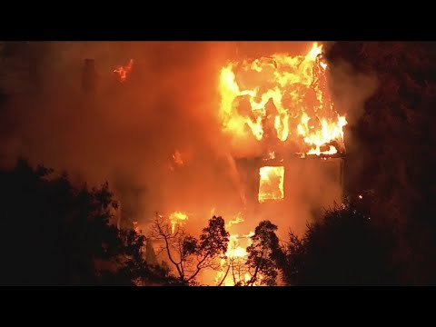 At Least 1 Person Injured In Burlington County House Fire