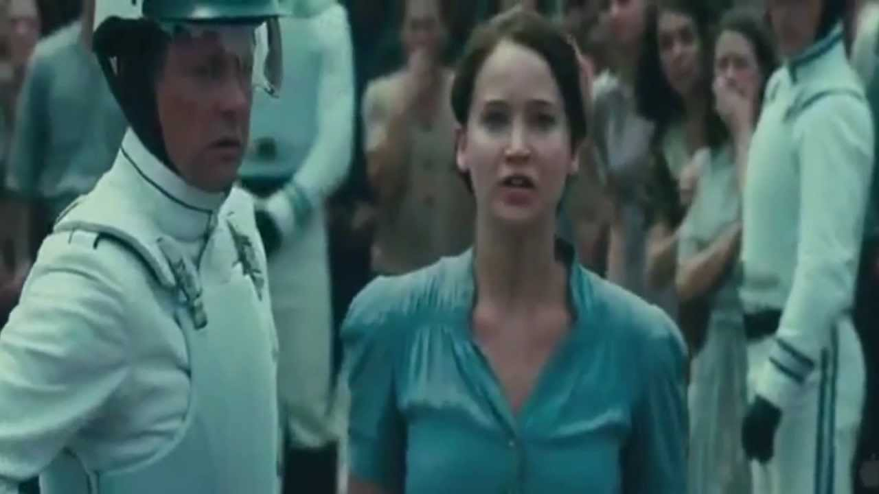 """The Hunger Games; """"I Volunteer As Tribute"""""""