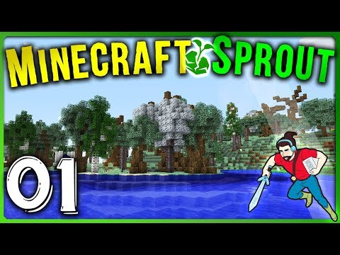 THIS IS AWESOME!! || Minecraft Sprout | #01 | RPG Minecraft Modded