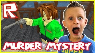 Murder Mystery / Screamer Gets Shot / Roblox