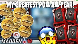 TOP 5 IN THE WORLD WEEKEND LEAGUE REWARDS 1 MILLION COIN PULL!…