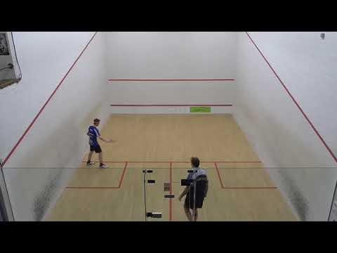 Norfolk squash teams EA1 Tim Dixon v EA2 Richard Hunt